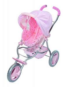 Zapf Baby Annabel 2 in 1 Jogger bei Intertoys