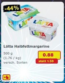 Netto MD (oH) Lätta Halbfettmargarine 0,88€