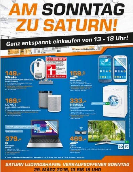 (lokal Saturn Ludwigshafen/Pfalz) heute Miele S8340 f. 149 € & Siemens WM14E3ED1 f. 333€