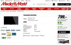 Media Markt / TELEFUNKEN L65F243R3C / LED TV / 65 Zoll / 799.-€ (Versand € 35.-)