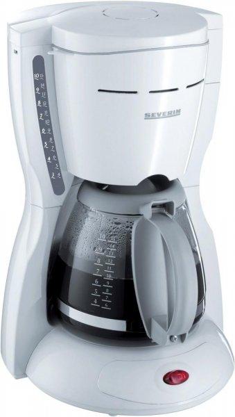 [Blitzangebot] Severin KA 4035 Kaffeeautomat, weiß / bis 10 Tassen / 1000 W für 14€ frei Haus @Völkner