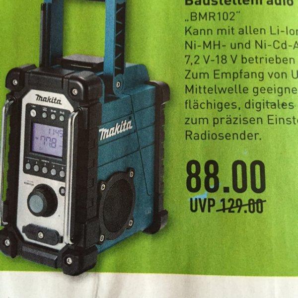 Makita Baustellenradio