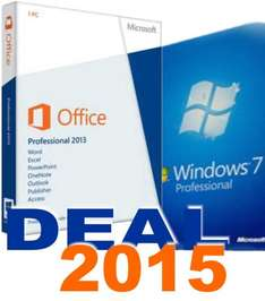 MS Office 2013 Professionell & Windows 7 Pro Gratis dazu, bei Softwarepoint-Otte (über Rekuten de) für 60,00 €