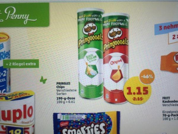 Bundesweit Penny Pringles versch. Sorten