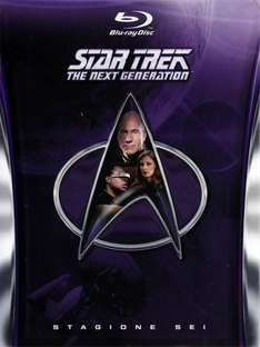 Star Trek - The Next Generation - Staffeln 1+2+6 [Blu-Ray] für zusammen 33,94€ inkl. Versand - Amazon.it