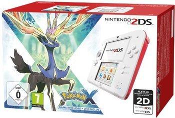 [Lokal/Saturn Frankfurt a.M. Skyline Plaza] Nintendo 2DS weiß/rot mit Pokemon X