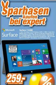Microsoft Surface 2 (64GB) 259€