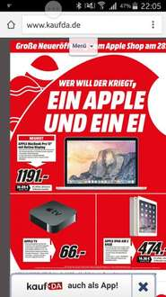ipad air 2 lokal Düsseldorf media markt