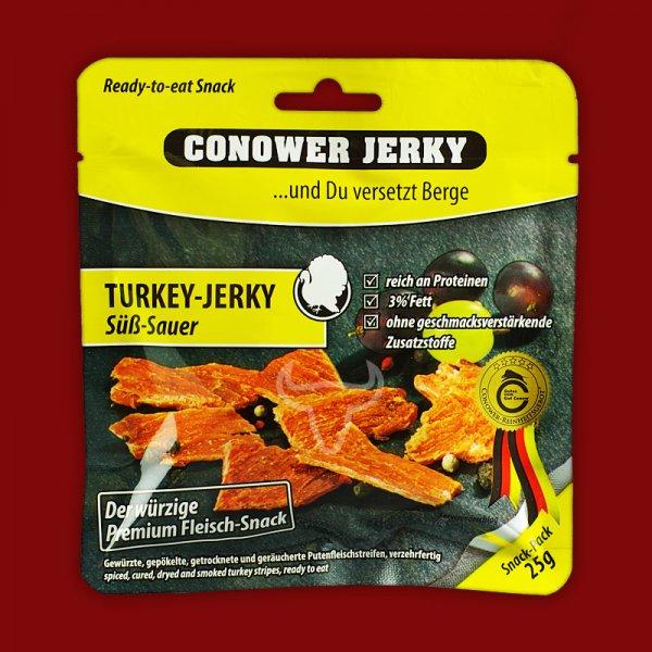 Conower Jerkey TURKEY JERKY SÜSS SAUER 25g / € 1.99 / Onzasports.com