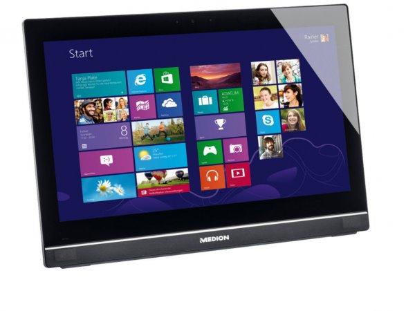 """MEDION AKOYA E5015 D All-In-One PC 49,53cm/19,5"""" Intel 500GB 4GB Windows 8.1 @ebay"""