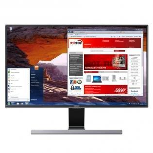 Samsung T24D590EW 59,9 cm (24 Zoll) TFT-Monitor (VGA, HDMI, USB, 5ms Reaktionszeit, TV-Tuner) schwarz-glänzend für 189,99 € @redcoon.de