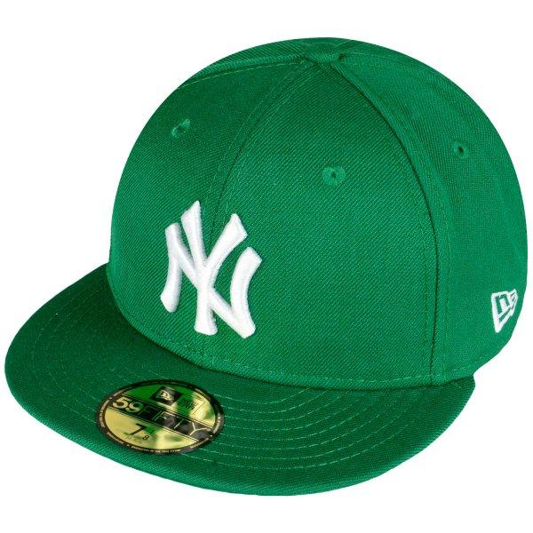 Hoodboyz – New Era MLB Basic Neyyan Herren Fitted Cap Grün Weiß / Dunkelblau Weiß für 9,90 Euro