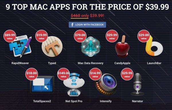 Spring Mac Bundle mit 9 Apps für $39.99 statt $460