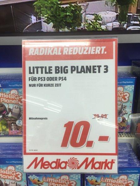 UPDATE: Litte Big Planet 3 PS3/PS4 @MM Herzogenrath für 10€