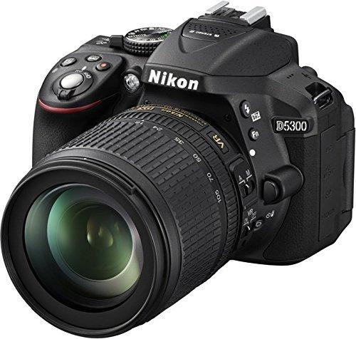 Nikon D 5300 schwarz Kit AF-S DX 18-105 mm VR