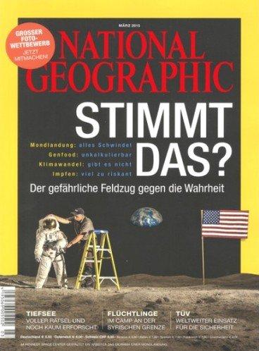 """""""National Geographic"""" Jahresabo für 63,60€ mit 50€ Amazon oder Tankgutschein"""