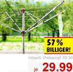 Wäschespinne Vileda Air Ultra zum Bestpreis für nur 29,99€ [Kaufland]