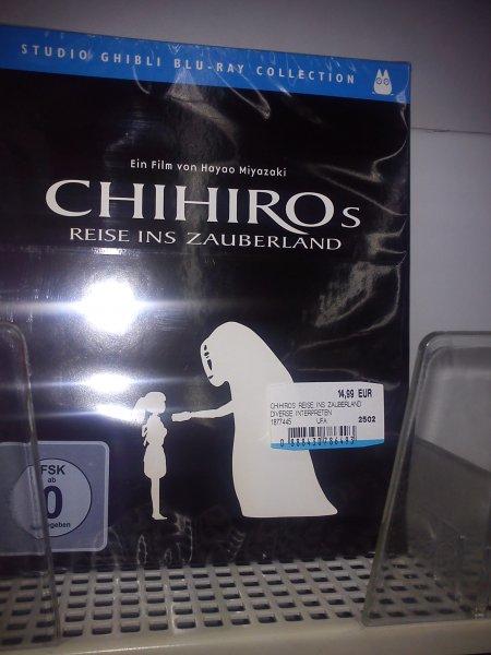 [Lokal] Media Markt Berlin Alexanderplatz Chihiros Reise ins Zauberland Blu Ray 14,99€
