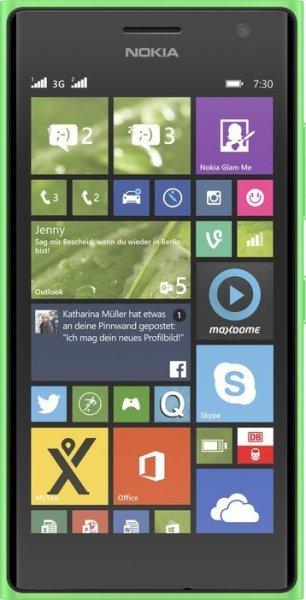 Nokia Lumia 730 Dual-SIM - 4,7'' / Snapdragon 400 / 8 GB Flash (erweiterbar) / 1 GB RAM / 1280 x 720 px AMOLED / 2220 mAh / Windows 8.1 / kein LTE für 149 €