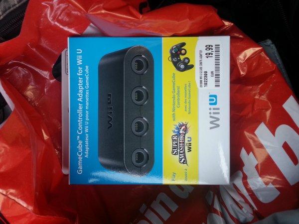 [MM Bielefeld] Wii U GameCube Adapter wieder verfügbar