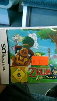 Zelda - Spirit Tracks [Lokal Saturn Berlin Alexanderplatz] 12,99€
