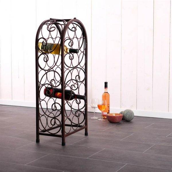 Schmiedeeisernes Weinregal als Produkt des Monats