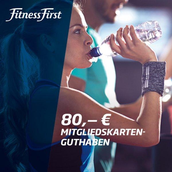 [@vente-privee.com] // Fitness First Mitgliedskarten-Guthaben // - 50% Rabatt beim Kauf von Guthaben 30€/50€/80€ für jeweils 15€/25€/40€