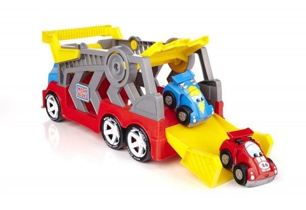 Preis-Änderung Mega Bloks 80439 - First Builders Tiny and Tuff Rennwagentransporter bei Amazon.de für 13,89€ (Prime)