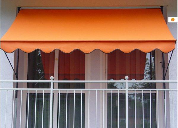 Klemmmarkise für Balkon etc. 3 mtr.breit 69,99.-€ + 5,95.-€ Versand  (statt 89.-€)
