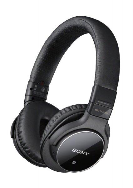 Sony MDR-ZX750, Bluetooth Kopfhörer mit Noise-Cancelling und NFC schwarz für 82,87 € @Amazon.it