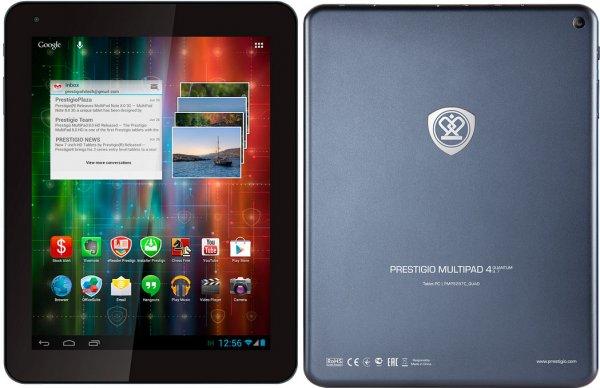 "[NBB] Prestigio MultiPad 4 Quantum (7,85"" HD IPS-Display, 4x 1,6 GHz, 1GB Ram, 8GB intern, microSD) inkl. Ledertasche für 71€ bzw. 66€ (Studenten)"