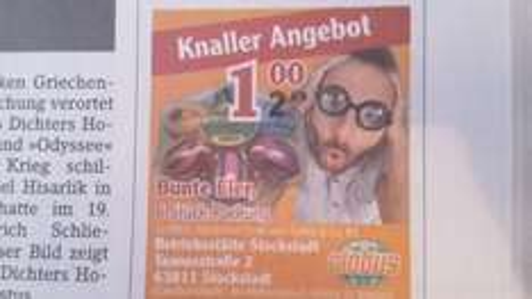 (Lokal) 6 bunte Ostereier für 1 Euro bei Globus in Stockstadt bei Aschaffenburg (20 Cent Scondoo möglich)