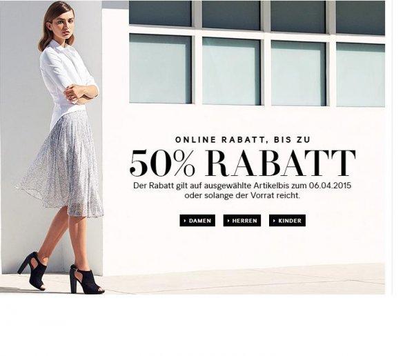 H & M Bis zu 50% Rabatt auf über 200 Frühlingsstyles + Versandkostenfreie Lieferung