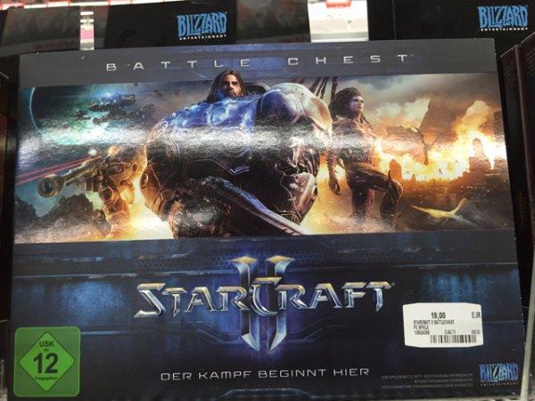 [Lokal Media Markt Emden] Starcraft 2 battlechest für 19€