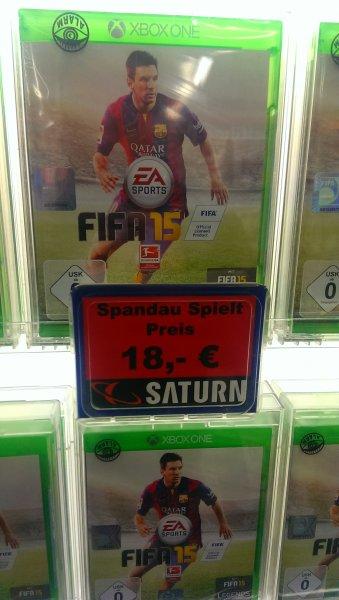 (Lokal) Fifa 15 Xbox One für 18€ Berlin Spandau Arcaden