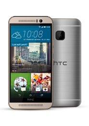 HTC One (M9) (Zuzahlung 4,95 €) + Vodafone Smart L Deluxe (Allnet-Flat, SMS-Flat, 1GB LTE-Flat) für 39,99€ mtl. @Sparhandy