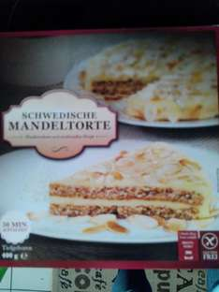 Kaufland Schwedische Mandeltorte 2,79€ ähnlich almondy glutenfrei
