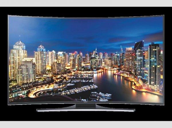 SAMSUNG UE65HU7200 163 cm (65 Zoll), UHD 4K, LED TV, 800 Hz, DVB-T, DVB-C, DVB-S, DVB-S2