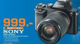 Sony Alpha 7 Kit 28-70 mm @Saturn Stuttgart