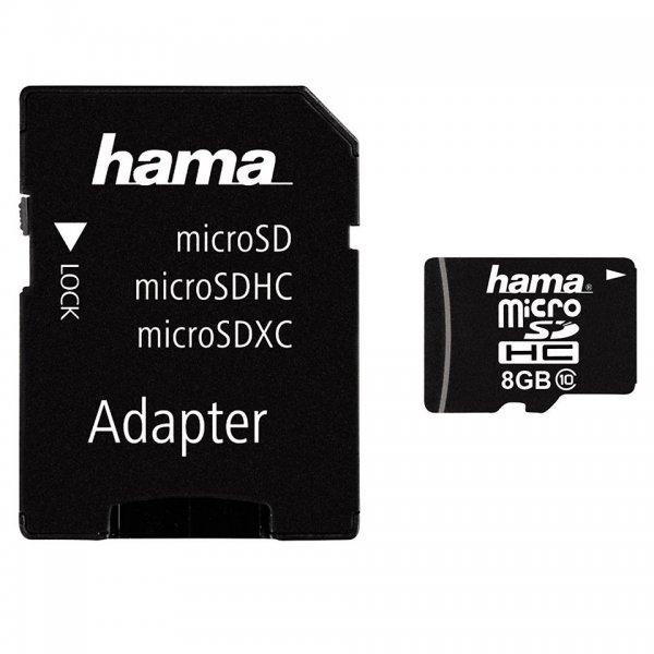 [Saturn] HAMA microSDHC 8 GB, Class 10, inkl. SD-Adapter für 5,00 Euro,  ohne Versandkosten