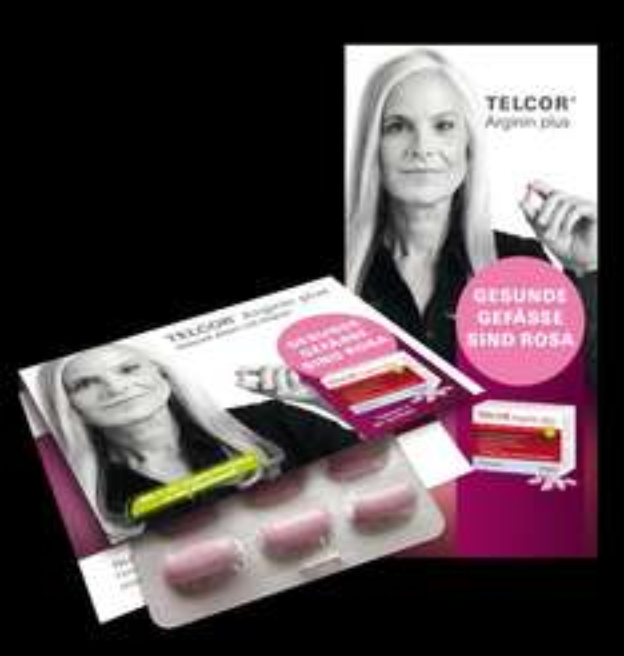 Kostenlos Telcor® Arginin plus Produkt-Muster