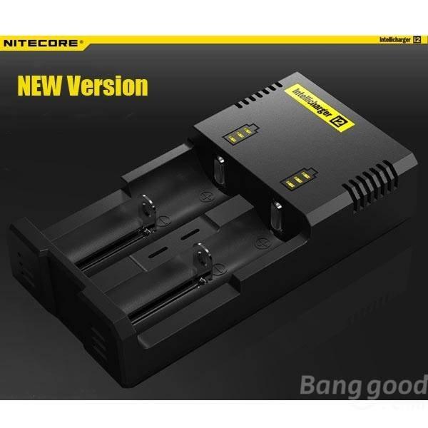 [Banggood] NITECORE Intellicharger I2 NEW Version Universal Ladegerät für Rundzellen