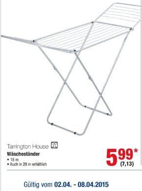 Metro - Flügel Wäschetrockner 7,13€ brutto