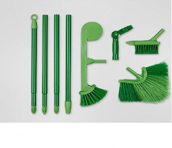 Tchibo: Gartenreinigungsset Dachrinnenreiniger /  Winkelbesen / Fugenbürste für 8 Euro bei Filiallieferung
