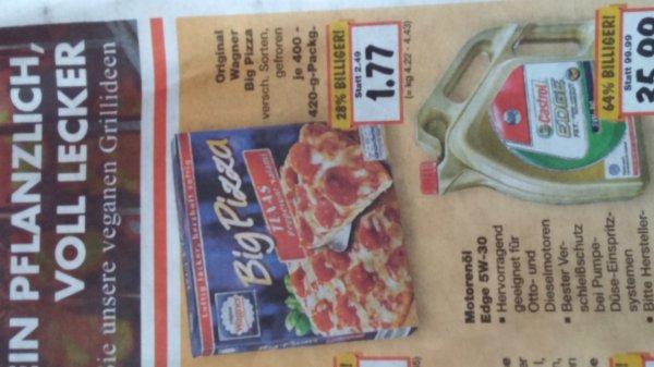 Wagner Big Pizza je 400-450g für 1,77€ @ Kaufland