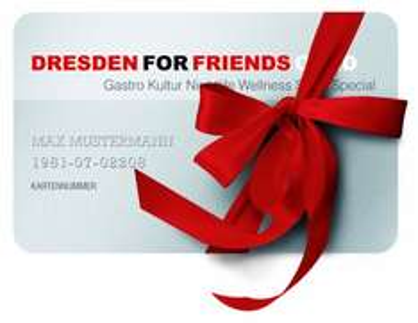 Dresden for Friends für 33€ statt 40€