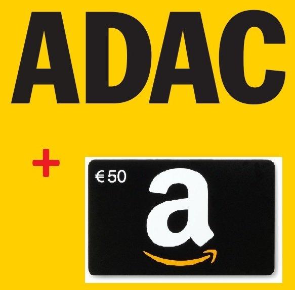ADAC Mitglied werden und Amazon-Gutschein über 50€ sichern