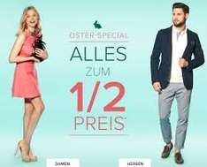DRESS FOR LESS - Osteraktion ALLES zum 1/2 Preis