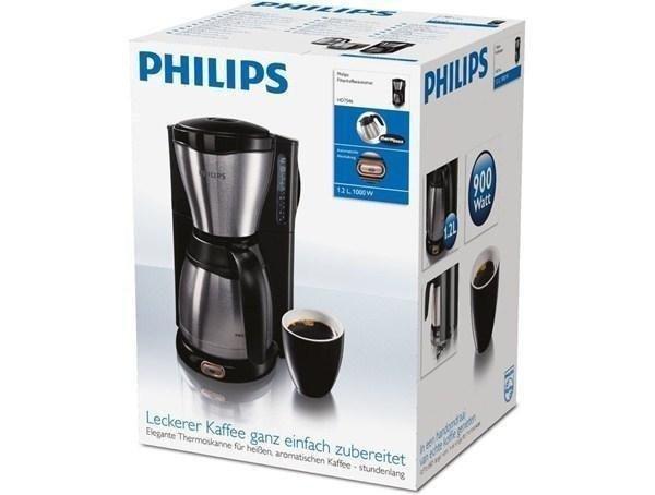 (redcoon) Philips HD7546/20 Thermo Kaffeemaschine Platz 1 bei Amazon Kaffeemaschinen