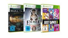 3x Xbox 360 Games für 30€ Halo 4 Fable Zoo Tycoon WoT ...Online